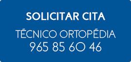 Solicitar cita ortopedia